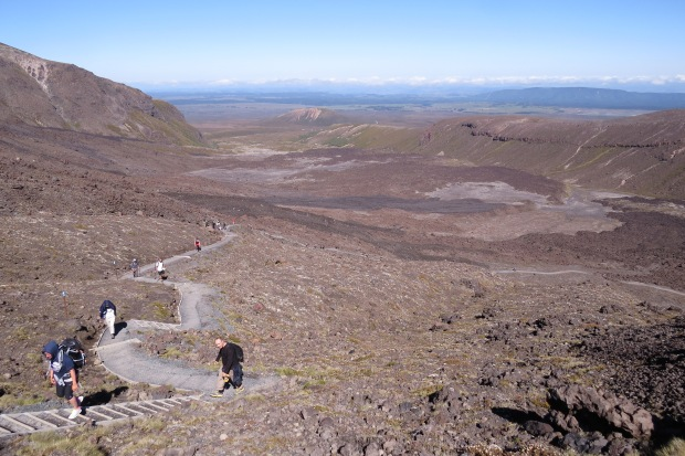 tongariro crossing mangatepopo valley