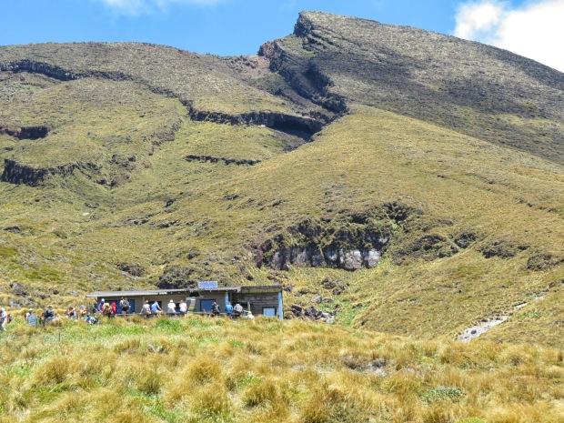tongariro crossing ketetahi hut