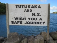 tutukaka marina sign
