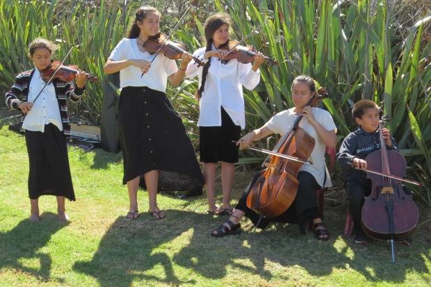 Martin Family musicians