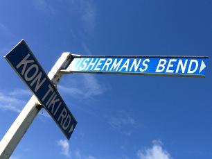Whiritoa street signs