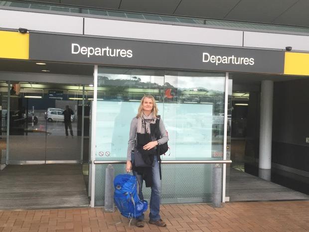 Wellington Airport, ready to go