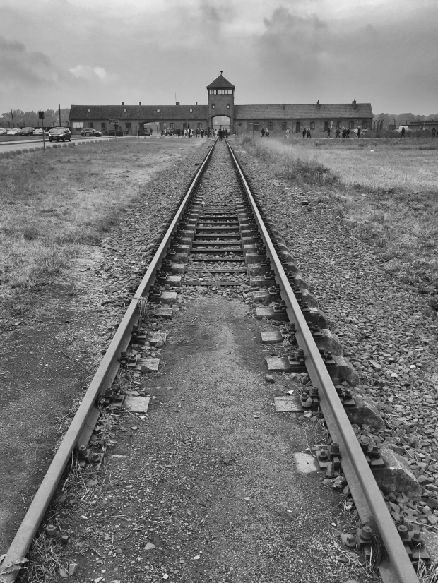 Birkenau from outside