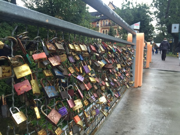 Zakopane has its own love lock bridge
