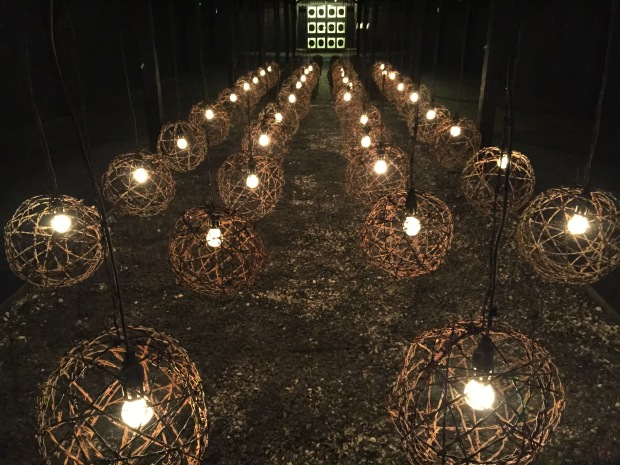 "A memorial exhibition called ""Shrine"""