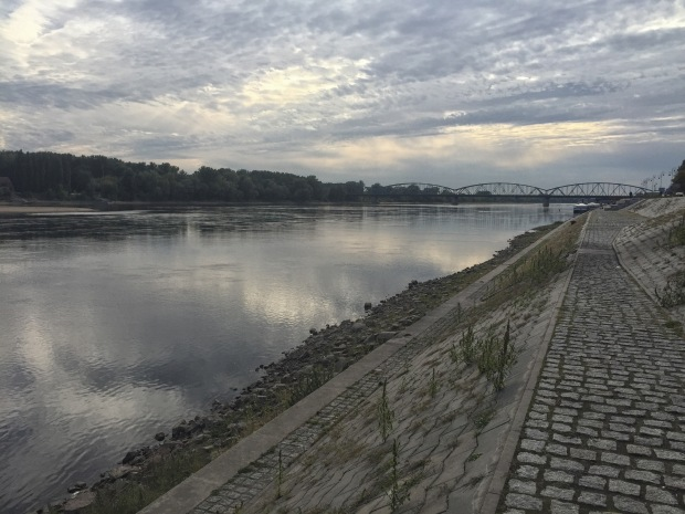 Walk beside the Vistula