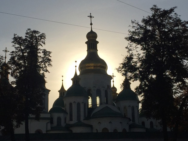 St Sophia Cathedral. I didn't get any closer as arrived just on closing