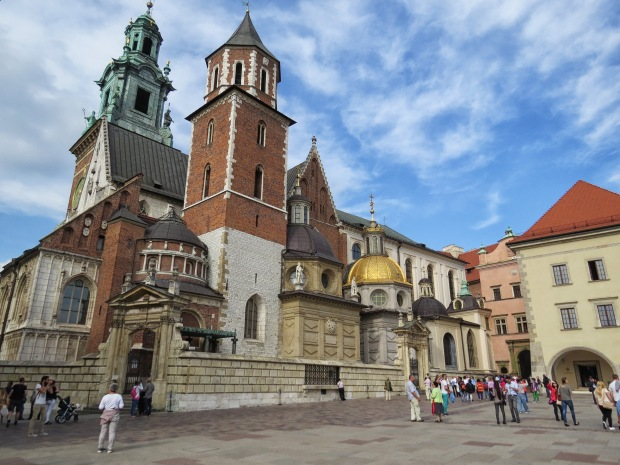 One of the reasons Wawel Hill is a big deal is the Cathedral