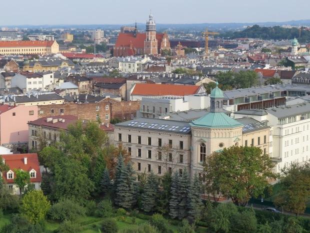 View from Sandomierz Tower, Krakow