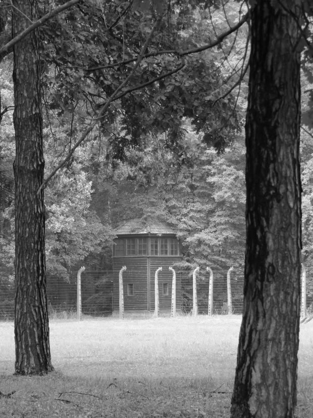 Birkenau watchtower