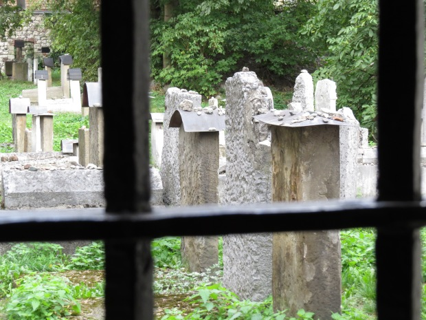 The old cemetery closed in 1800 after which time the new cemetery was used