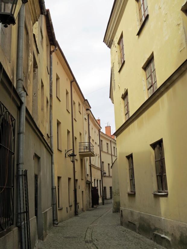 Old town alleyway