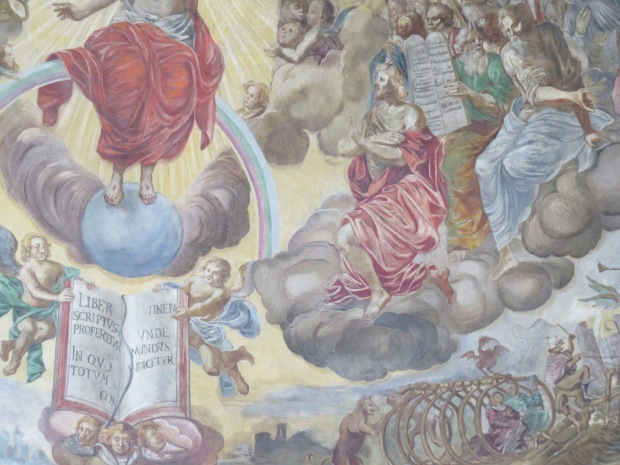 Mural in the church