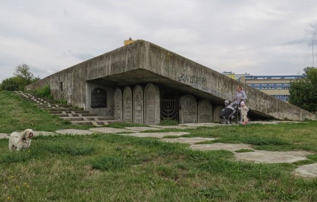 A large memorial park