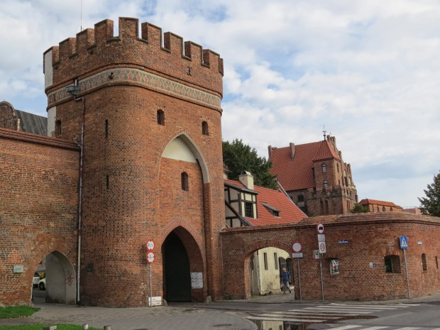 Some of the city wall and one of its gates