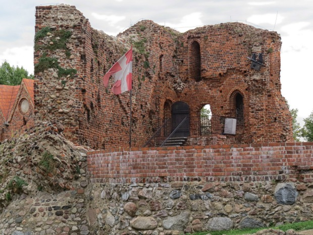 Remnants of a Teutonic Knights castle