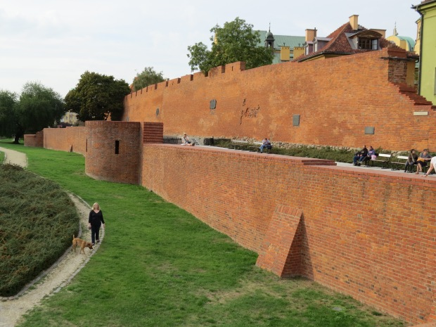 Part of the old city wall