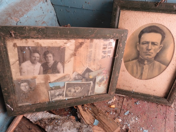 Photos of the people who used to live in this house
