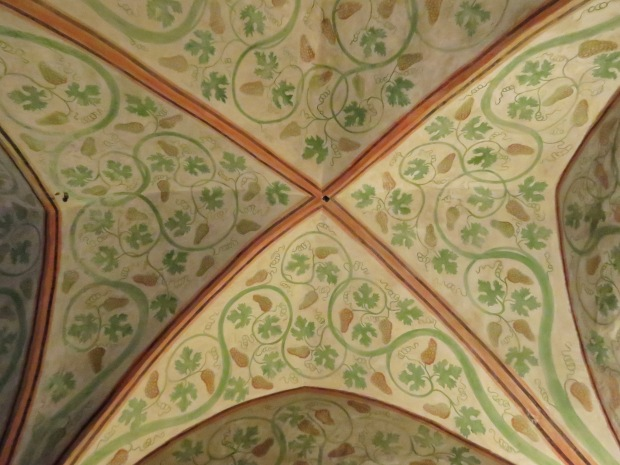 Olden times ceiling