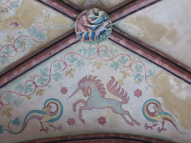 Another ceiling. I guess the unicorns back then were a bit more stroppy