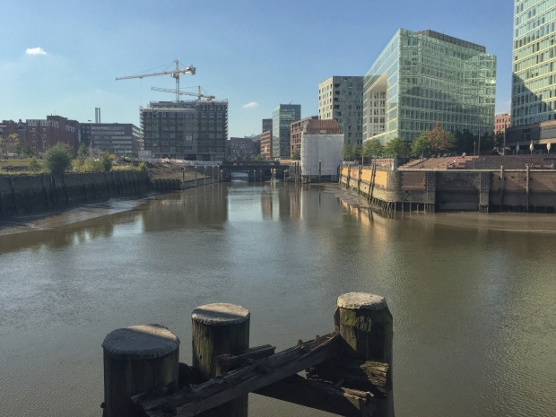 Part of the extensive HafenCity development that will continue for many years to come
