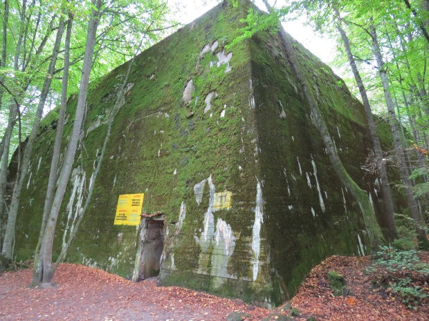 Hitler's personal secretary's bunker. He had a separate house next door