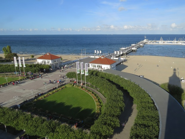 The pier is one of Sopot's main attractions