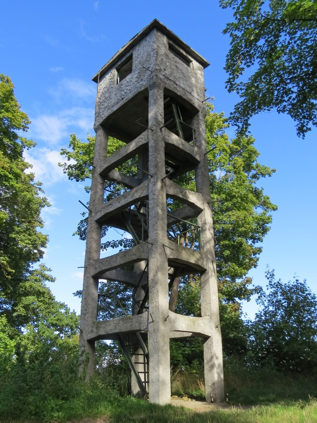 This was a range-finder tower