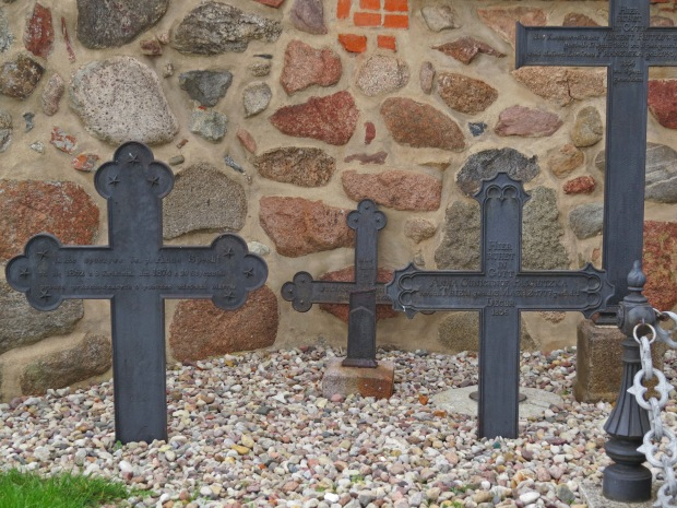 These seemed to be the oldest identifiable graves in the old cemetery