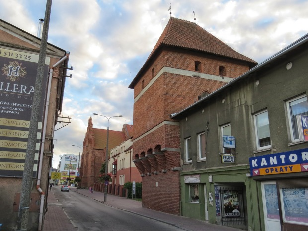 The Gdańsk Gate Tower (the gate part was cut off some time ago but you can almost envisage it being there), part of the museum