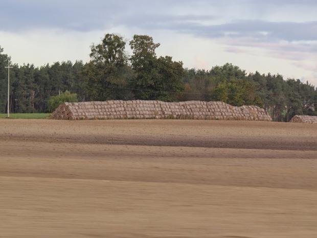 Triangular haystacks are where it's at around here