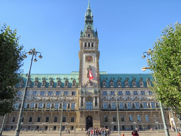City hall, aka rathaus. At 647 rooms it's slightly larger than Buckingham Palace