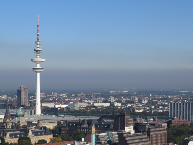 That's Hamburg's TV tower