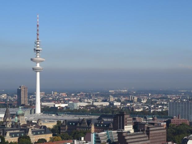 That's Hamburg's TV tower