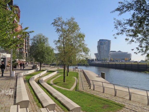 Hamburg has many spaces that make the most of its plentiful waterfront area