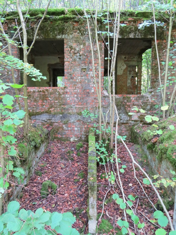 What's left of the station near Wolf's Lair. The existence of the station in a large woodland area as well as the close proximity to Russian territory were reasons why Hitler chose the area for his headquarters