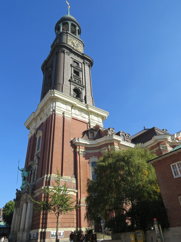 St Michael's is Hamburg's most famous church and is a prominent landmark