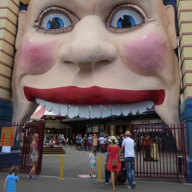 I thought for SURE we'd make a visit to Luna Park given we had the boys and were staying close by – but nope!