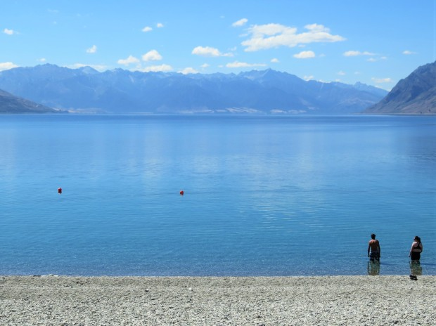 And it would've been rude not to pop in to see Lake Hawea.