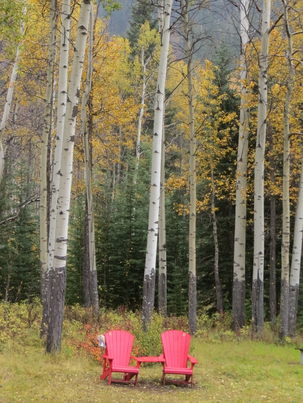Our first stop was here at 'Muleshoe' to find a pairing of the Parks Canada chairs, also covered in my separate 'red chairs' post,